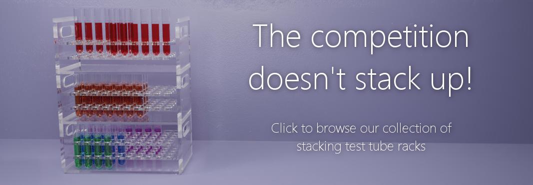 Stacking Test Tube Rack Banner Image