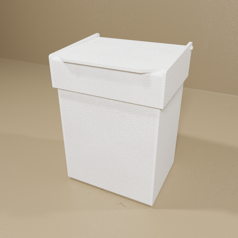 Small Benchtop Waste Container